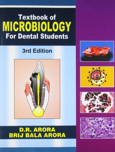 Textbook Of Miocrobiology For Dental Students,3E (Pb): Arora D.R.