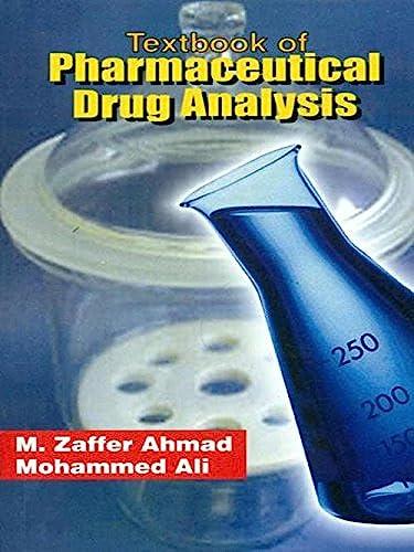 9788123916750: Textbook of Pharmaceutical Drug Analysis