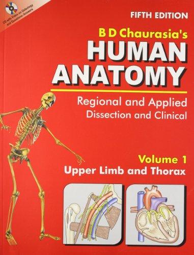 Human Anatomy, 5E, Vol.1, With Cd: Chaurasia B.D