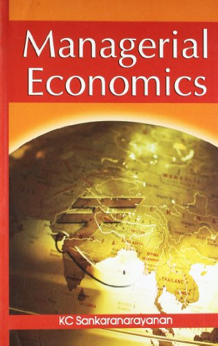 Managerial Economics: Sankaranarayanan