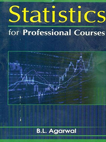 9788123919812: Statistics for Professional Course