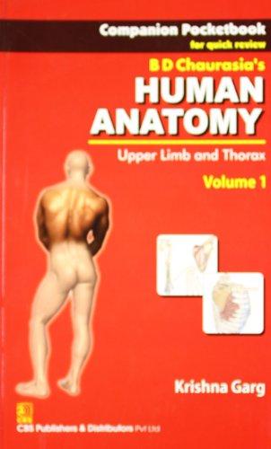 Companion Pocketbook for Quick Review B.D. Chaurasias: Chaurasia B.D.