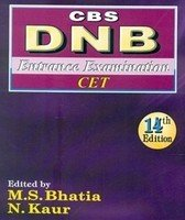 9788123921969: DNB Entrance Examination CET