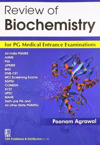 9788123921976: Review of Biochemistry for PG Medical Entrance Examinations