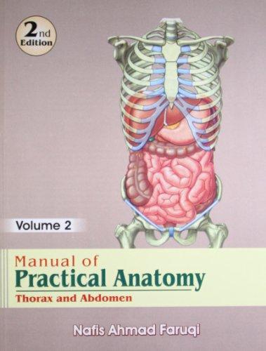 Manual Of Practical Anatomy 2e Vol 2: Faruqi N.A.