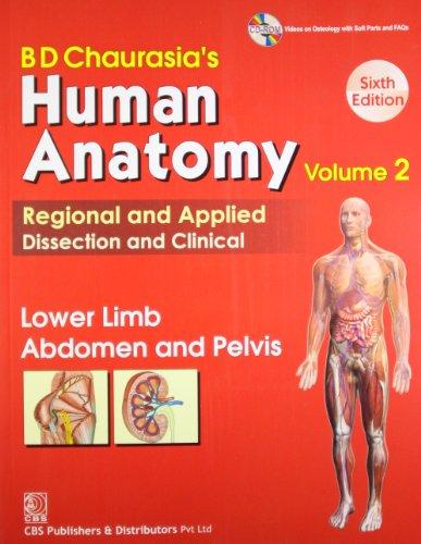 Bd Chaurasias Human Anatomy Vol2 Lower Limb Abdomen Pelvis