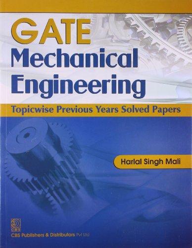 Gate Mechanical Engineering (Pb-2014): Mali H.S