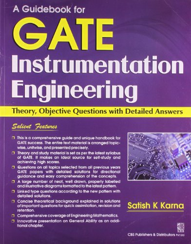 A Guidebook For GATE Instrumentation Engineering : Theory Objective Questions with Detailed Answers...