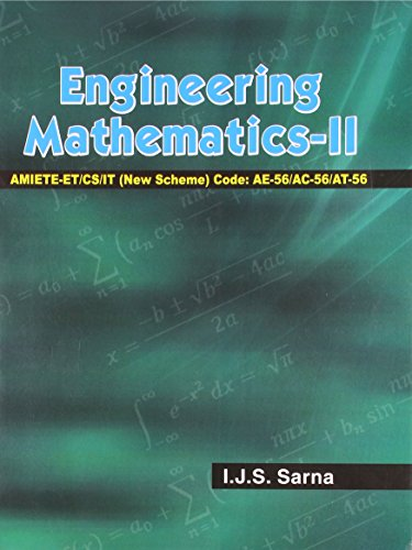 Engineering Mathematics-2: I.J.S.Sarna
