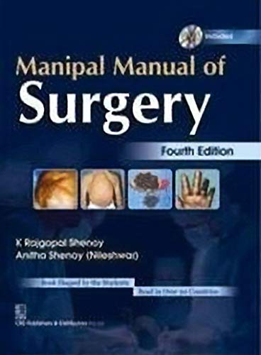 9788123924168 manipal manual of surgery abebooks anitha shenoy rh abebooks co uk Manipal Medical School India Manipal Medical School India