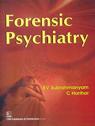 Forensic Psychiatry: Parihar C. Subrahmanyam