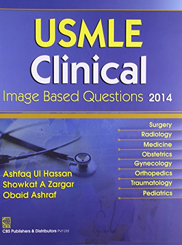 9788123924403: USMLE Clinical Image Based Questions 2014