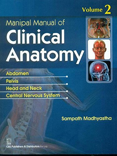 9788123925141: Manipal Manual of Clinical Anatomy Volume 2