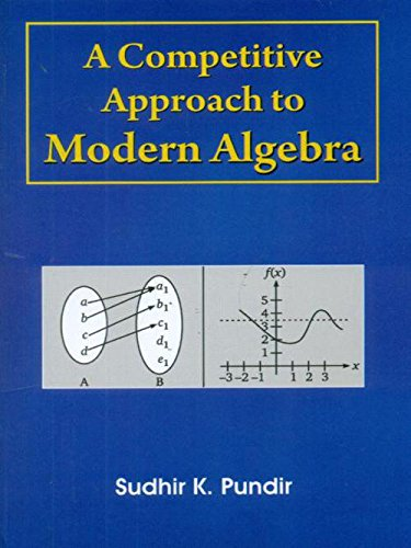 A competitive Approach to Modern Algebra: PUNDIR