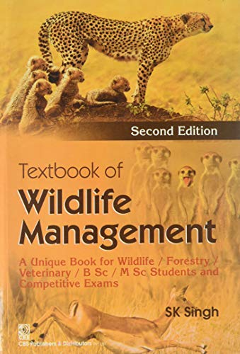 9788123925714: Textbook of Wildlife Management