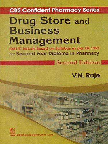 Drug Store And Business Management 2Ed (Cbs: Raje V.N.