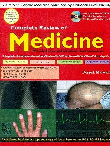 9788123926421: Complete Review of Medicine With DVD