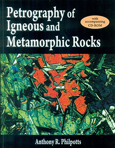 9788123926650: Petrography Of Igneous And Metamorphic Rocks : With Cd-Rom (Pb 2015)