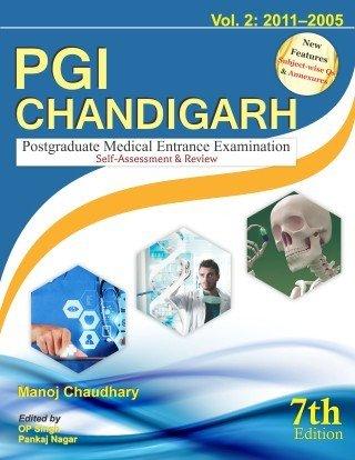 Pgi Chandigarh Postgraduate Medical Entrance Examination Self: Chaudhary M