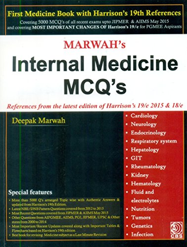 Marwahs Internal Medicine Mcq's References From The: Marwah D.