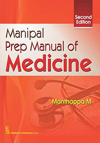 9788123929507: Manipal Prep Manual of Medicine