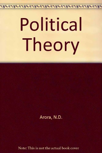 9788124105955: Political Theory