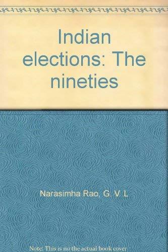 Indian elections: The nineties: Narasimha Rao, G. V. L