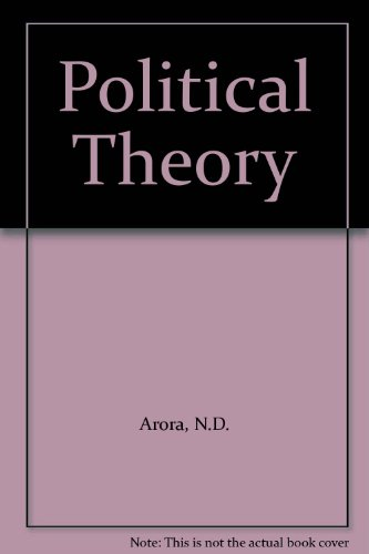9788124111642: Political Theory