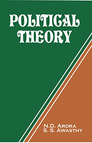 Political Theory: Awasthy S.S. Arora