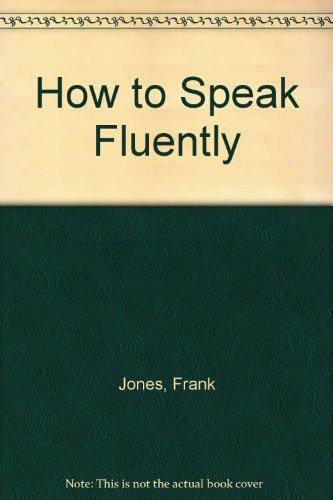 9788124200667: How to Speak Fluently