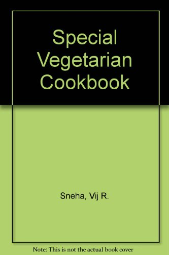 9788124201961: Special Vegetarian Cookbook