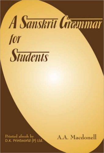9788124600948: A Sanskrit Grammar for Students