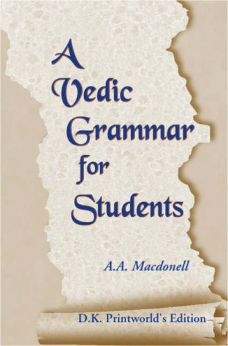 9788124601273: A Vedic Grammar for Students New Deluxe Pa Edition