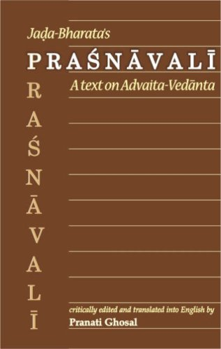Jada-Bharata's Prasnavali: A Text on Advaita-Vedanta