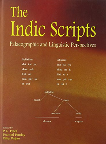 9788124604069: The Indic Scriptures: Paleographic and Linguistic Perspectives