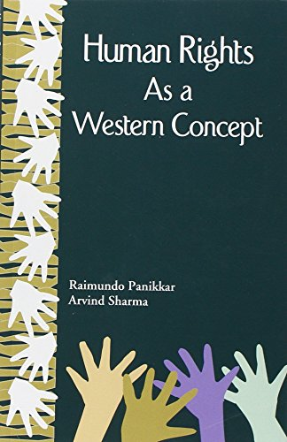9788124604298: Human Rights As a Western Concept