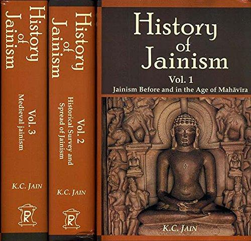 9788124605479: History of Jainism (3 Vol. set)
