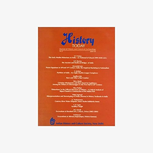 History Today (Vol. 5: 2004) - Journal: Vandana Kaushik