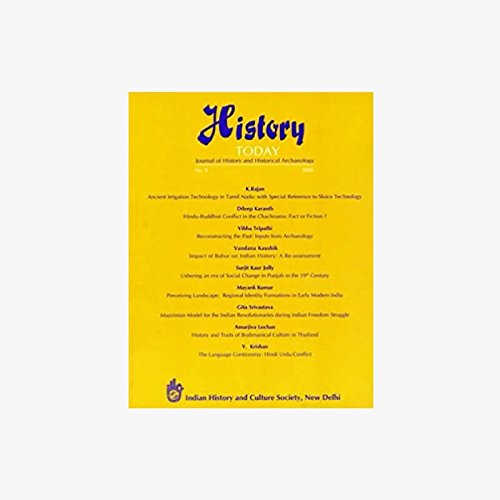 History Today (Vol. 9: 2008) - Journal: Vandana Kaushik