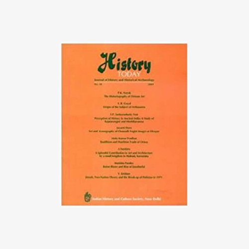 History Today (Vol. 10: 2009) - Journal: Vandana Kaushik