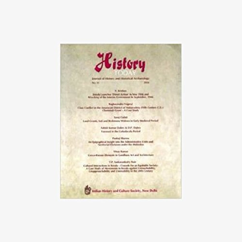 History Today (Vol. 11: 2010) - Journal: Vandana Kaushik