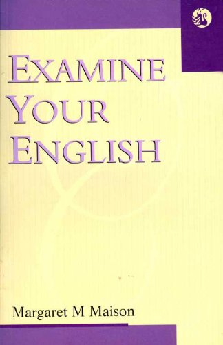 9788125001768: Examine Your English