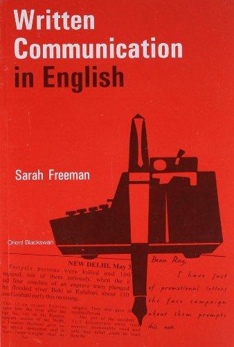 9788125004264: Written Communication in English