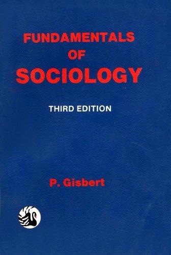 Fundamentals of Sociology (Third Edition): P. Gisbert