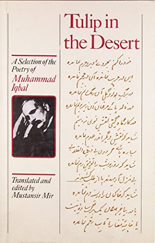9788125017318: Tulip In The Desert A Selection If The Poetry Of Muhammad Iqbal