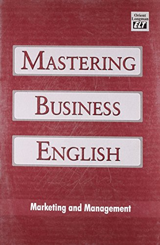Mastering Business English: Marketing and Management: Orient BlakSwan