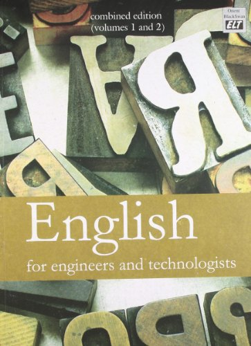 9788125030195: English for Engineers and Technologists
