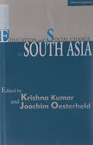 9788125030614: Education and Social Change in South Asia