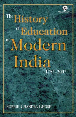 9788125035244: History of Education in Modern India 1757-2007