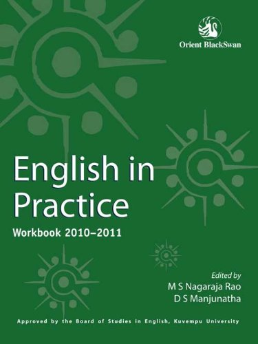 English in Practice: Workbook 2010-2011: M S Nagaraja